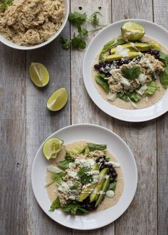 Slow Cooker Salsa Verde Chicken Slow Cooker Salsa, Slow Cooker Chicken, Slow Cooker Recipes, Crockpot Recipes, Dinner Dishes, Main Dishes, Chicken Tacos, Salsa Verde, Food To Make