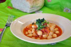 Estofado marroquí de alubias: Cómo se hace, receta, ingredientes e instrucciones paso a paso. Receta marroquí con alubias. Potaje de alubias estilo marroquí