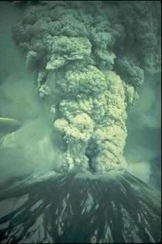 Monte Santa Helena. 18 de Mayo 1980