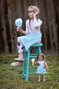 simple skirt made using a blanket from IKEA  - - The Cotton Candy Skirt ~ Sugar Bee Crafts