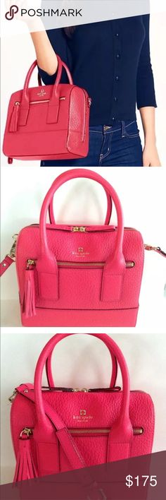Kate Spade Kate Spade pink like new Alyssa satchel can be used as a crossbody kate spade Bags Satchels