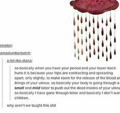 Don't tell a girl period cramps can't be that bad