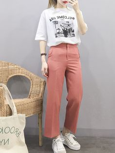 New korean fashion trends trendy korean clothes, 2019 Korean Fashion Minimal, Korean Fashion Street Casual, Korean Girl Fashion, Korean Fashion Trends, Korea Fashion, Minimalist Fashion, Teen Fashion, Latest Fashion Trends, Fashion Styles