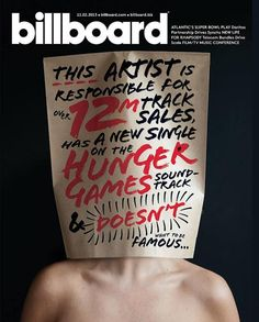 Quote of the day บนปกนิตยสาร Billboard (US) #magazine #cover