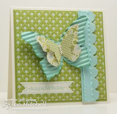 Beautiful Butterflies for FMS46 by jenmitchell - Cards and Paper Crafts at Splitcoaststampers
