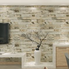 Quality HANMERO Chinese Faux Brick Wallpaper Effect Brick Pattern Wallpaper Living Room TV Background papel de parede with free worldwide shipping on AliExpress Mobile Brick Pattern Wallpaper, Brick Effect Wallpaper, Living Room Decor Fireplace, Living Room Tv, 3d Wallpaper Living Room, Wall Wallpaper, Wallpaper Roll, Angel Wallpaper, Bedroom Decor Lights