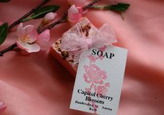 Capitol Cherry Blossom Soap..Probably the best thing you can buy at Eastern Market. Obsessed.