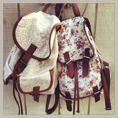Bag: floral s backpack girly lace pack love cute hippie vintage backpacks flowers floral vintage
