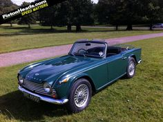 Triumph TR4A 1966. I will have one of these soon.