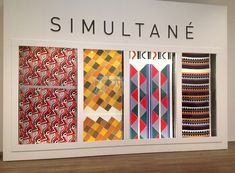 Sonia Delaunay at Tate Modern - untill 9 August 2015