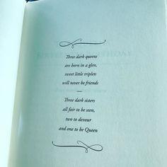 Our #featuredbook of Oct! Three Dark Crowns by @kendareblake