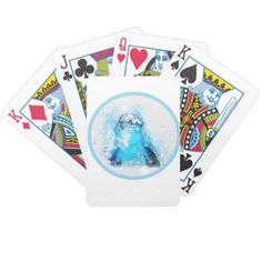 Dolphin Bicycle Playing Cards - custom diy cyo personalize gift ideas