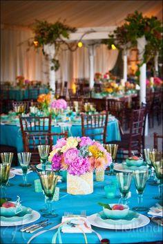 Kinda like the tablecloth color!