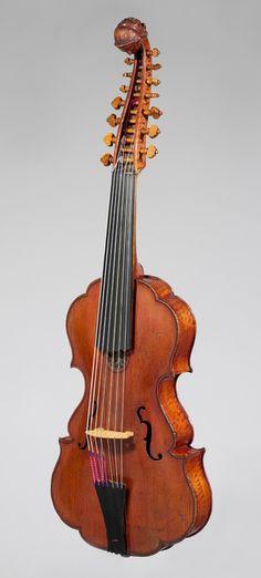 Johannes Florenus Guidantus: Viola d'amore (2009.41)   Heilbrunn Timeline of Art History   The Metropolitan Museum of Art