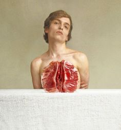 Quirky Self-Portraits By Marwane Pallas... this is unbearably clever