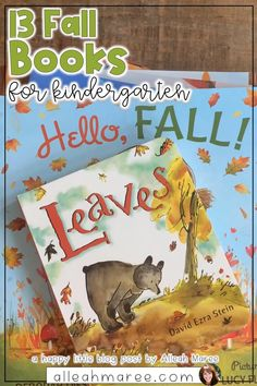 13 Fall Books with Teaching Ideas for Kindergarten