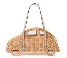 Kate Spade Vita Riva Wicker Car Handbag, $398 At Kate Spade across Canada, katespade.com