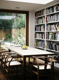 In Good Company: Dining Rooms with Beautiful Bookshelves