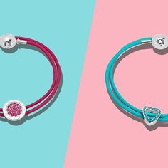 Which of these fun colored leather wraps is your favorite?  Shop the Minimalista Rose Defiance Silver Bracelet: https://www.caterinajewelry.com/product/cj-minimalista-rose-defiance-silver-bracelet/ Shop the Aquamarine Kiss Silver Bracelet: https://www.cat