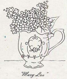 "Tea Party ""Mary Lou"" Pattern"