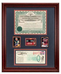 Coca Cola Bottling Company, Cameron, Texas   Stock Certificate. (1962)