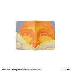 Celestial #2 Passport Holder