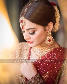 Beautiful Minal Khan Looking Stunning in New Bridal Poses, Bridal Photoshoot, Bridal Shoot, Beautiful Pakistani Dresses, Pakistani Bridal Dresses, Close Up, Beautiful Women Videos, Bridal Pictures, Wedding Dresses For Girls