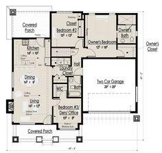 House Plan #444 36 : Houseplans.com
