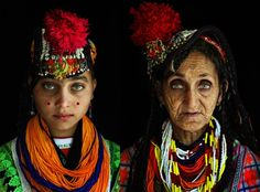 The Kalash live in the Hindu Kush mountain range, Pakistan and may be descended from Alexander the Great's army. They practice a polytheistic religion, allow men and women to mix freely, and speak a language related to Greek, things which make the Kalash very different from their Muslim neighbors.