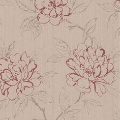 Graham & Brown Texture Bloom Wallpaper - Red at Homebase -- Be inspired and make your house a home. Buy now. Accent Wallpaper, Plain Wallpaper, Embossed Wallpaper, Wallpaper Panels, Wallpaper Decor, Geometric Wallpaper, Wallpaper Samples, Wallpaper Roll, Hallway Wallpaper