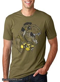 Crazy Dog Tshirts Mens Mr. T Rex T Shirt Trex Shirt Dinosaur Tee