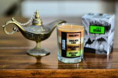 Leaving the country? Bring a #souvenir from #dubai. Take this Day in #arabia #candle and give it to your loved ones.   With four layers of different scents, this is the best way to remember your journey in the #uae .  #emirati #mydubai #middleeast
