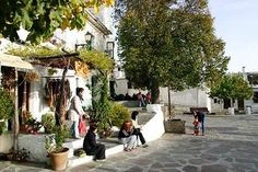 Town of Capileira, Spain