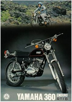 Sometimes people taking part in specific disciplines of cycling will purchase a specialized mtb, developed for the discipline. While cross-country, freerider and enduro are the most common discipli… Tracker Motorcycle, Motorcycle Posters, Motocross Bikes, Scrambler Motorcycle, Enduro Vintage, Vintage Bikes, Vintage Motorcycles, Yamaha Sr400, Yamaha Motorcycles