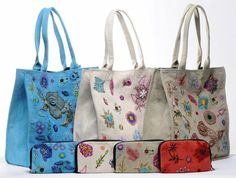 No pattern - just an idea to reuse fabric to make bags.