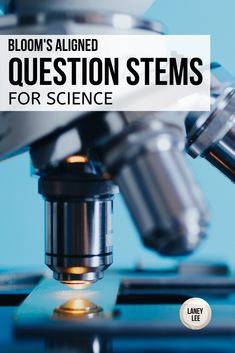 Bloom's aligned Question Stems to improved any teacher's lesson! Science Resources, Science Lessons, Science Ideas, Science Classroom, Teaching Science, Question Stems, Teaching Secondary, Stem Science, Earth Science