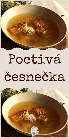 Poctivá česnečka Fondue, Cheese, Ethnic Recipes