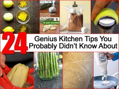 24 Genius Kitchen Tips You Probably Didn't Know About