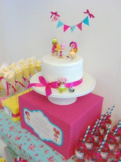 Lalaloopsy Birthday Party by Picture Perfect Parties Kylie Birthday, 6th Birthday Parties, Baby Birthday, Birthday Ideas, Birthday Cakes, Little Girl Birthday, Daughter Birthday, Lalaloopsy Party, Perfect Party