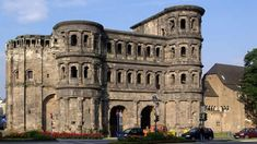 The Porta Nigra, in Trier, Germany, near Bitburg.  Part of the ancient Roman Empire's northwestern gate.