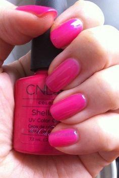 CND Shellac Nail Color in Tutti Frutti...