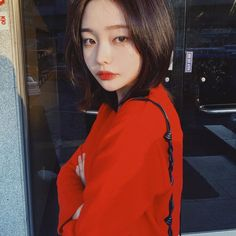 Uzzlang Girl, New Girl, Son Hwamin, Hwa Min, Ulzzang Korean Girl, Pretty Asian, Different Hairstyles, Girls Image, Korean Fashion