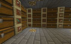 Excellent storage space and map wall