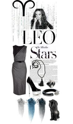 """""""Leo - Its all in the Stars"""" by stephanieotis on Polyvore"""