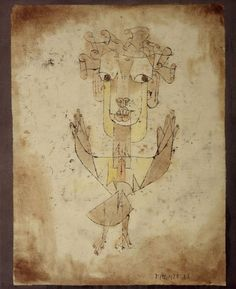 Paul Klee, Angelus Novus, 1921