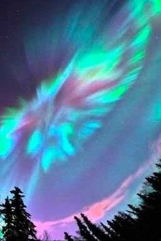 Aurora Borealis / Northern Lights - Elisa ^^ - Re-Wilding All Nature, Science And Nature, Amazing Nature, Aurora Borealis, Beautiful Sky, Beautiful Landscapes, Hirsch Illustration, Pretty Pictures, Cool Photos