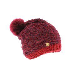 Bonnet à Pompon RMountain Rasta Rouge #streetwear #urbanwear #Mode #snow et pas chère sur @hatshowroom