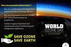 #ChoiceBroking #WorldOzoneDay - Today is World Ozone Day, Ozone layer filters harmful ultraviolet radiation travels from the sun to the surface of the earth and save both plant and animal life.Lets swear an oath to protect our Ozone layer by following three simple steps.
