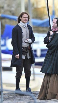 Outlander - La serie di Diana Gabaldon: Sam Heughan, Jamie e la seconda stagione