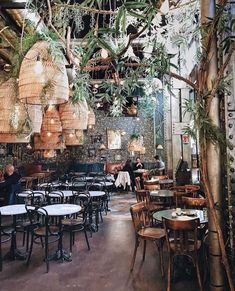 PlantFilled Restaurants Around the World Tips For Decorating With Greenery is part of Bar design restaurant Does your plant collection need a refresh We& feeling inspired by these 11 lush restau -